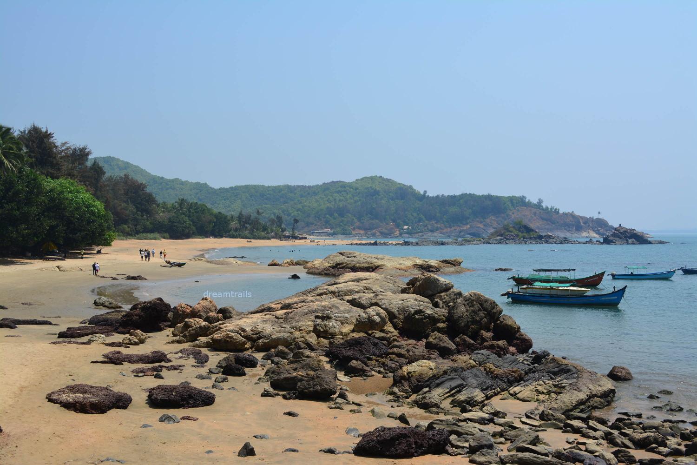 Om Beach, Gokarna, Karnataka
