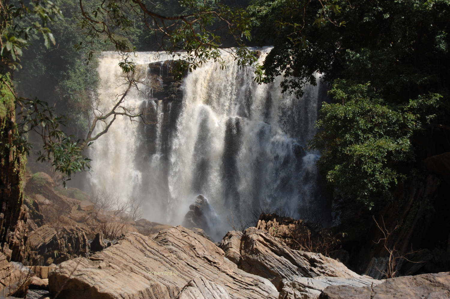 Sathodi Falls, Karnataka, India